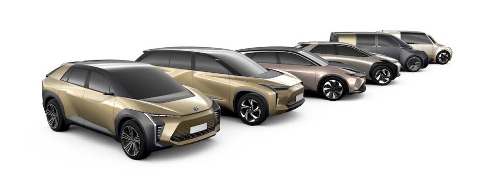 新型トヨタ EV・SUV 特許画像流出
