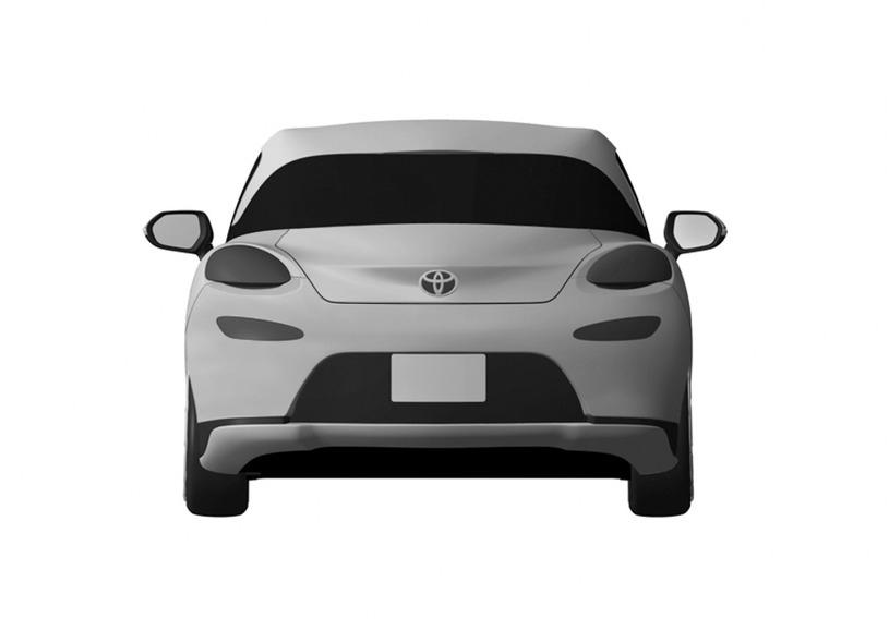 トヨタ MR2 デザイン特許画像流出 リア