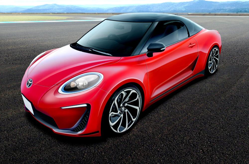 次期新型トヨタ MR2 デザイン予想CG