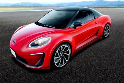 トヨタ MR2 ついに新型復活か!デザイン予想CGを入手!スープラ、セリカに続く復活予告通りに?