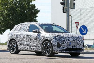新型アウディ Q4 e-tron 次世代EV・SUV市販型の最終デザインをスクープ!