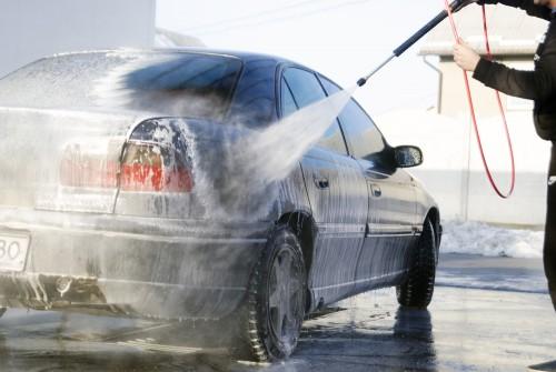 高圧洗車機
