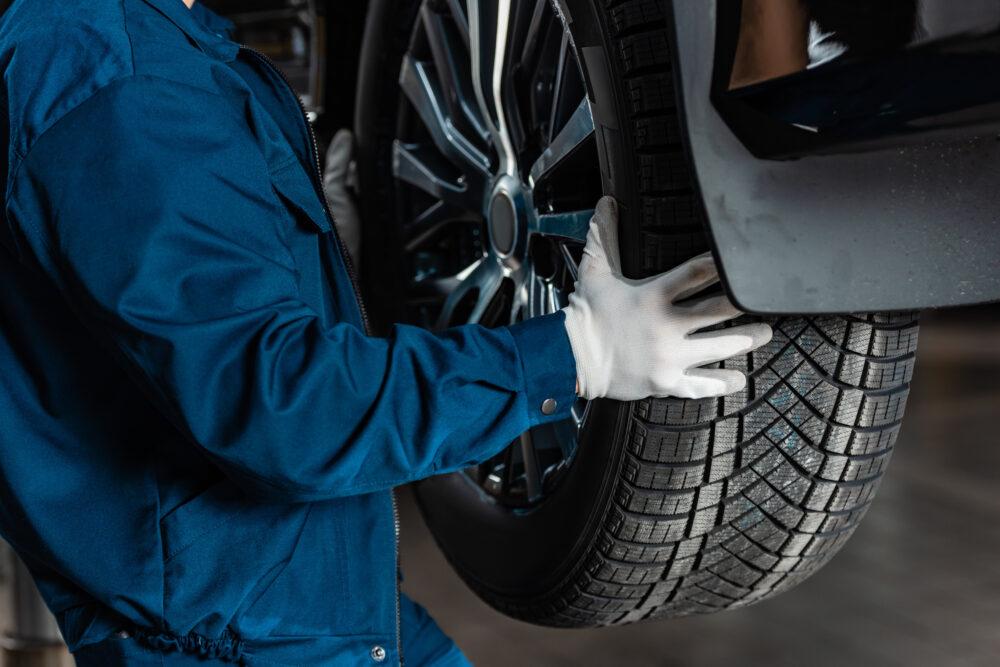 タイヤ設置イメージ