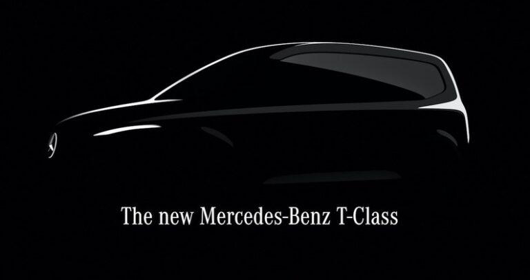 メルセデス・ベンツ新型モデルTクラスの開発を発表!ティザーイメージを1点初公開!