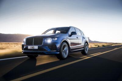 """改良新型ベントレー ベンテイガ """"スピード"""" 635PSで欧州発表!0-100km/h加速3.9秒世界最速SUVに"""