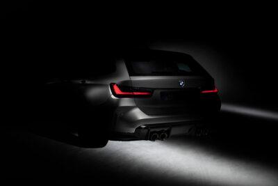 新型BMW M3 ツーリング登場!初のステーションワゴンを設定、ティザー画像を公開