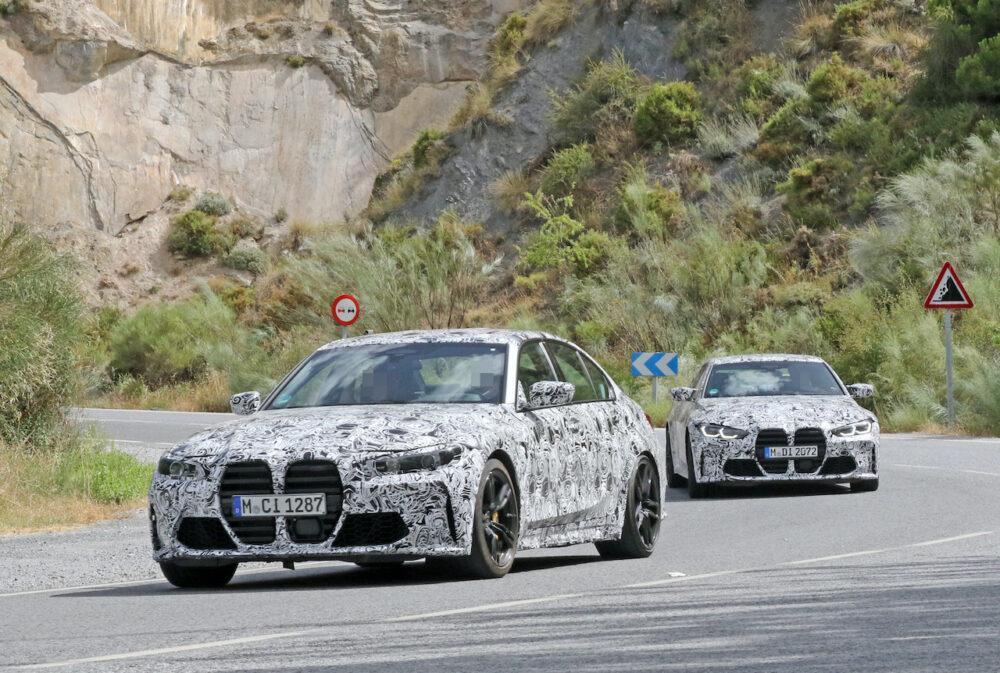 次期新型 BMW M3・M4 プロトタイプ スパイショット