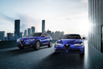 改良新型アルファ ロメオ ジュリア/ステルヴィオ 10月3日発売開始、新グレード「スプリント」追加、安全装備充実へ