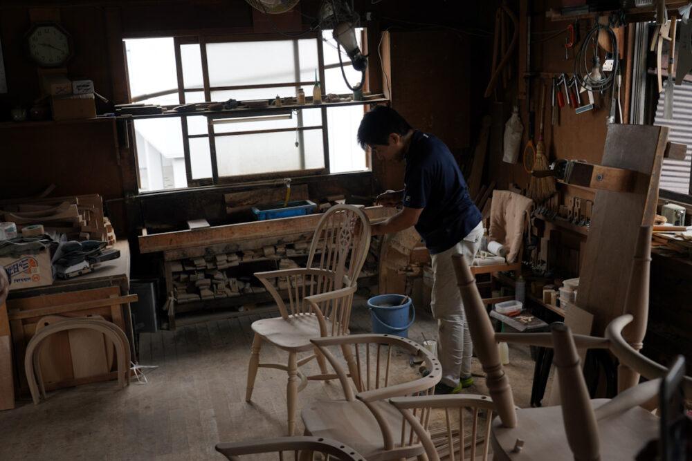 松本民芸家具 工房