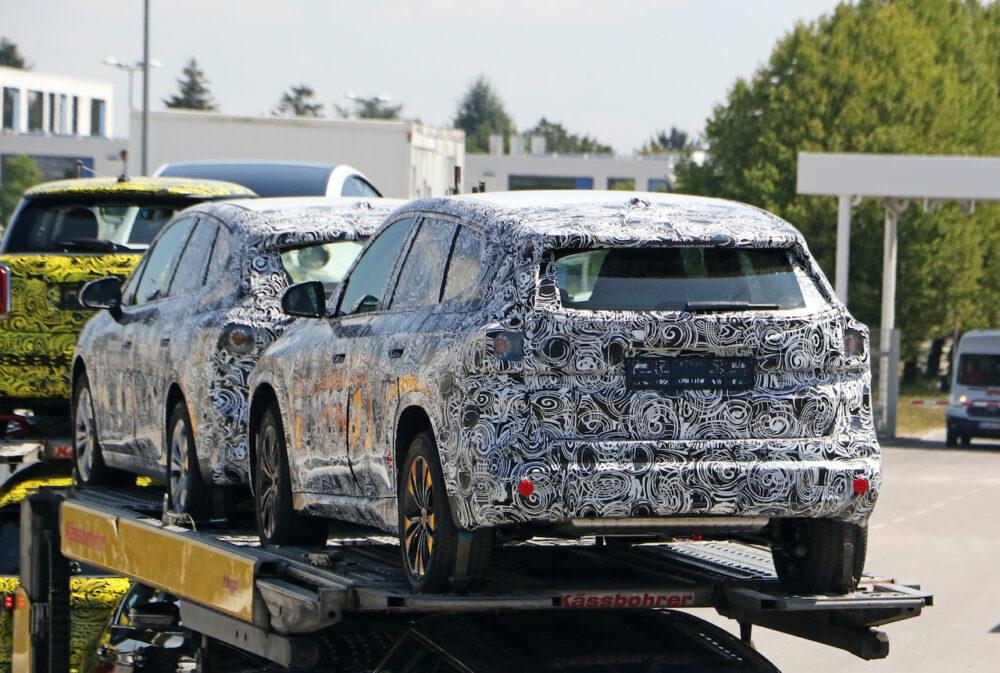 次期新型 BMW X1 プロトタイプ スパイショット リア
