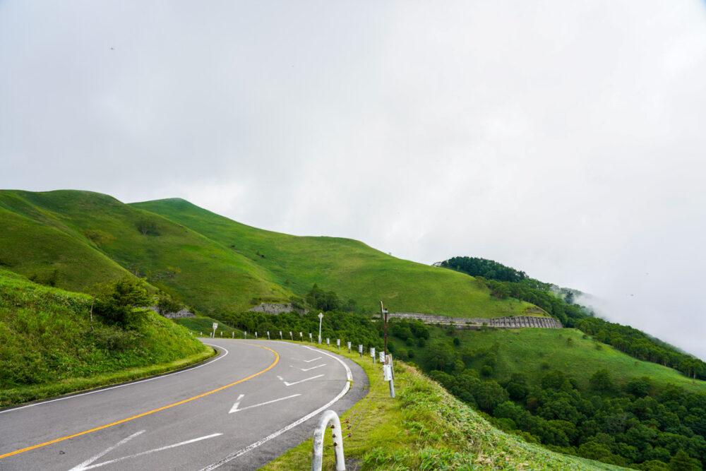 ビーナスライン 三峰山 山頂付近