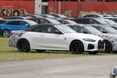 次期新型BMW 4シリーズ カブリオレのデザイン判明!巨大キドニーグリルを見せた!