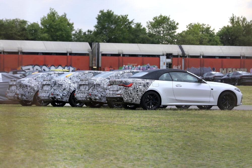 次期新型 BMW 4シリーズ カブリオレ プロトタイプ スパイショット