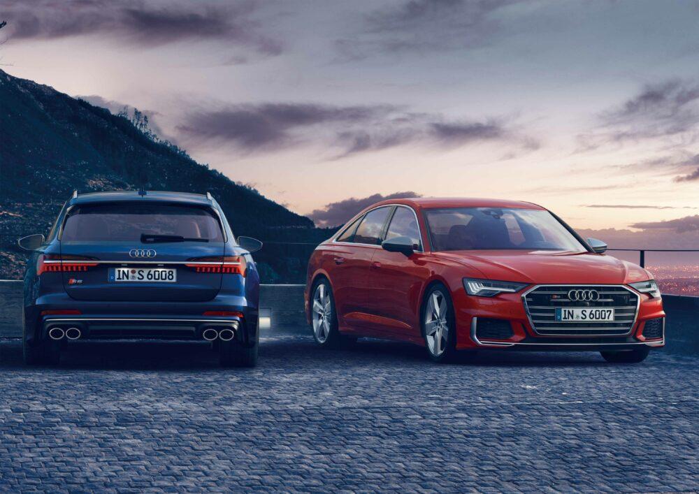 新型アウディ S6とS6アバント