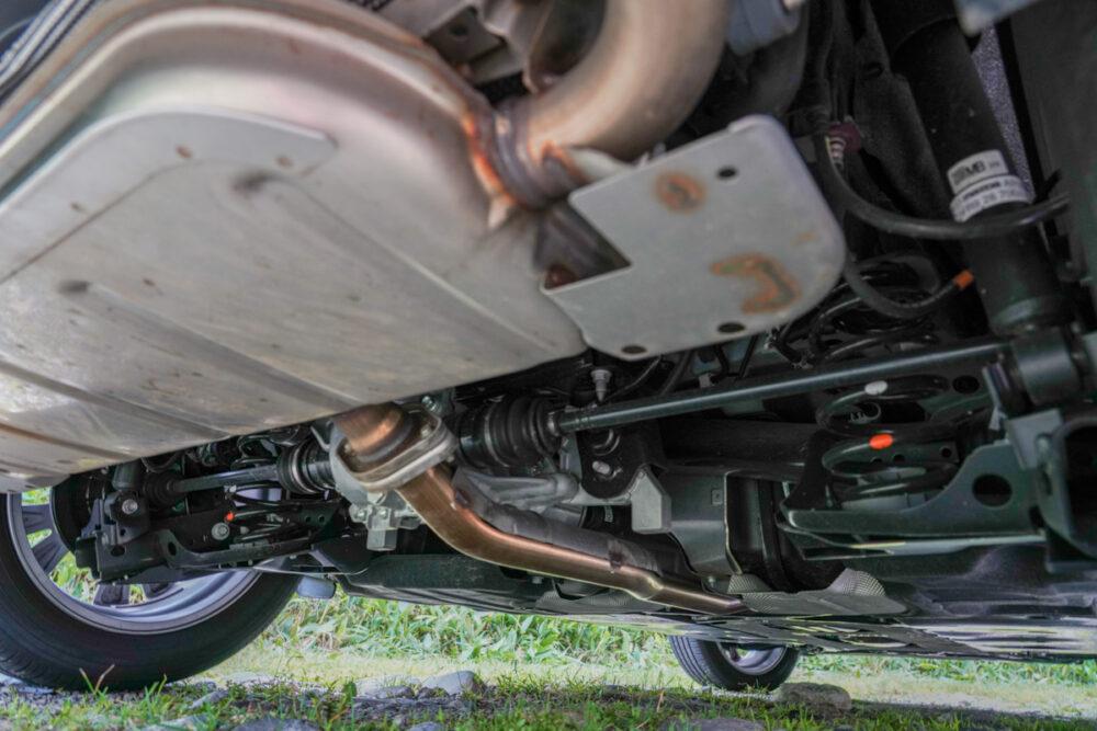 マツダCX-30 AWD リアサスペンション周り
