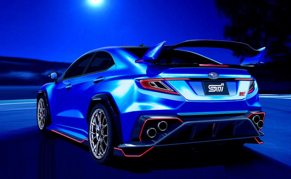 次期新型スバル WRX STI デザイン予想CG