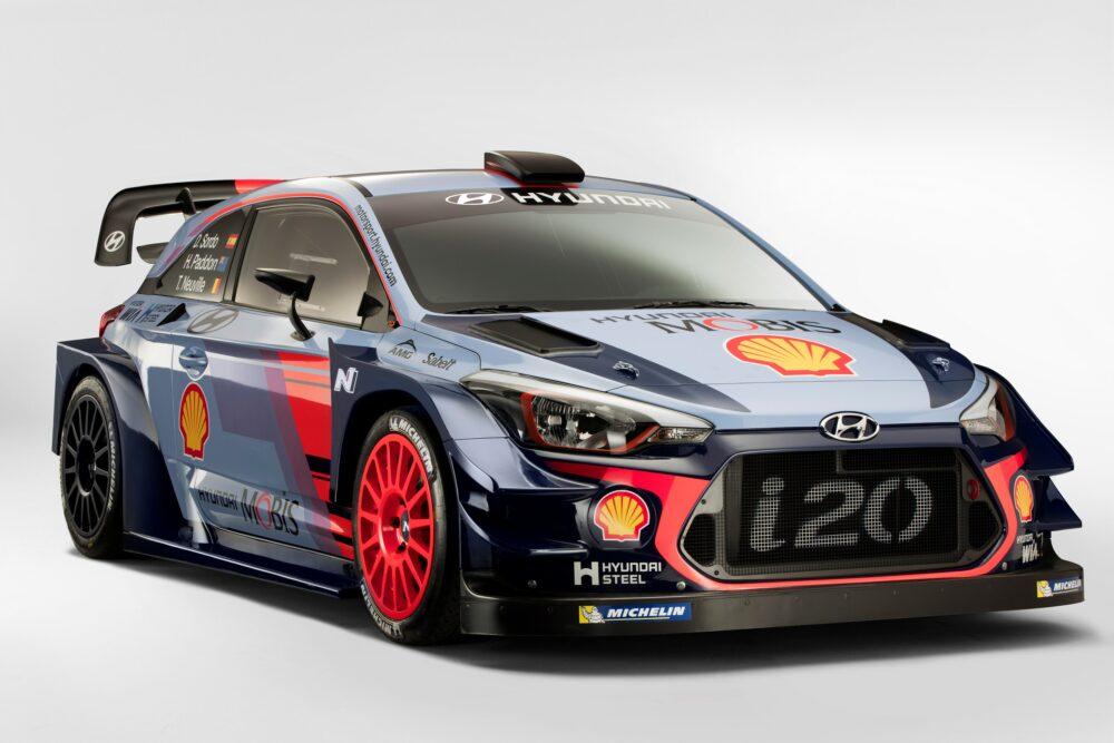 ヒュンダイ i20 WRCマシン