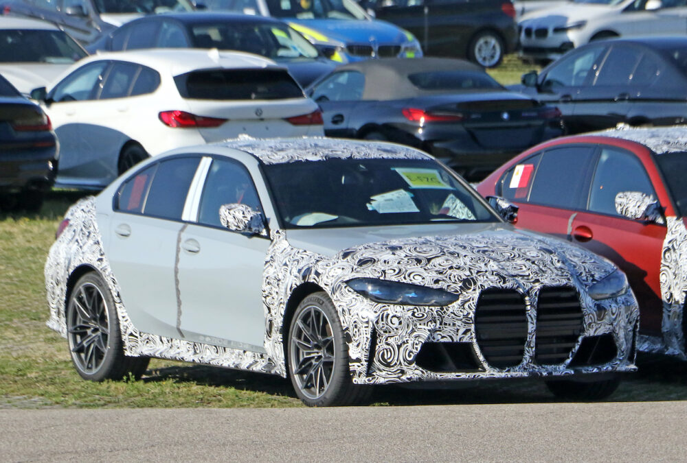 次期新型 BMW M3セダン プロトタイプ