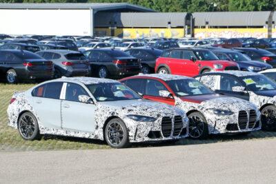 次期新型BMW M3プロトタイプ2モデルの撮影に成功!デビューは近い!