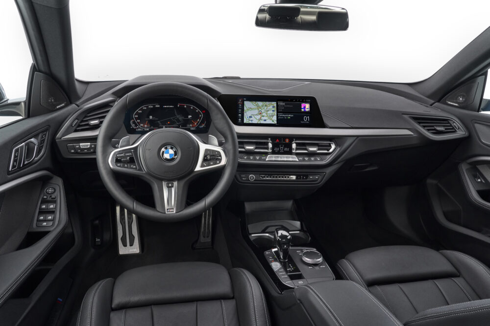 BMW 2シリーズ グランクーペのインパネ
