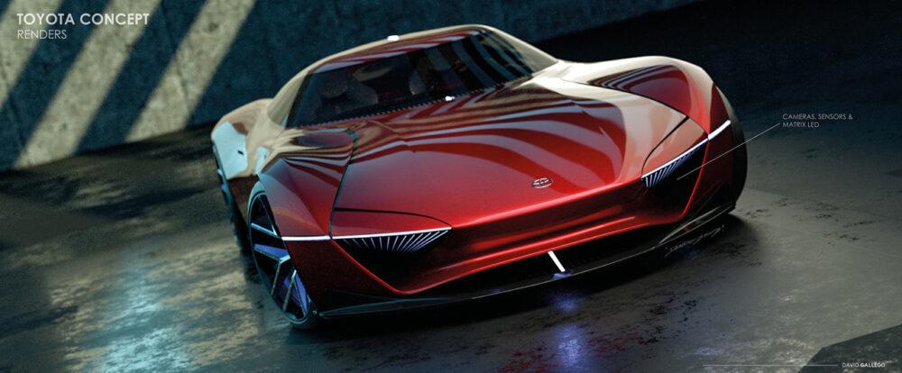 トヨタ H2+コンセプト デザイン予想CG フロント