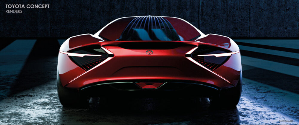 トヨタ H2+コンセプト デザイン予想CG リア