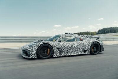 「AMG One」メルセデス・ベンツ初のハイパーカーのプロトタイプの走行動画が公開された!