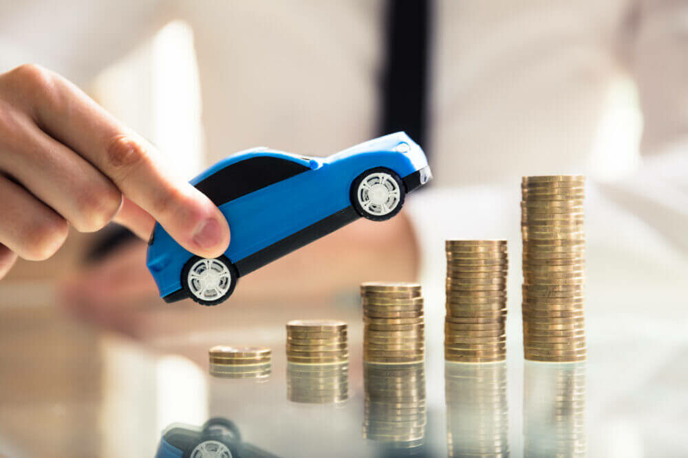 車とコイン