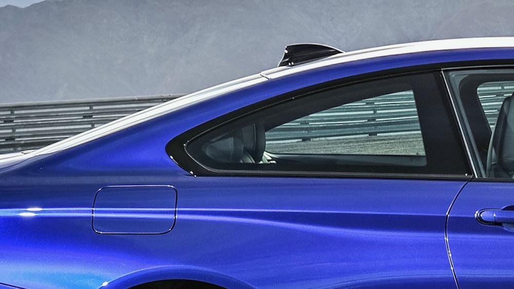 BMW M4クーペ (CS/2019年モデル)のホフマイスター・キンク
