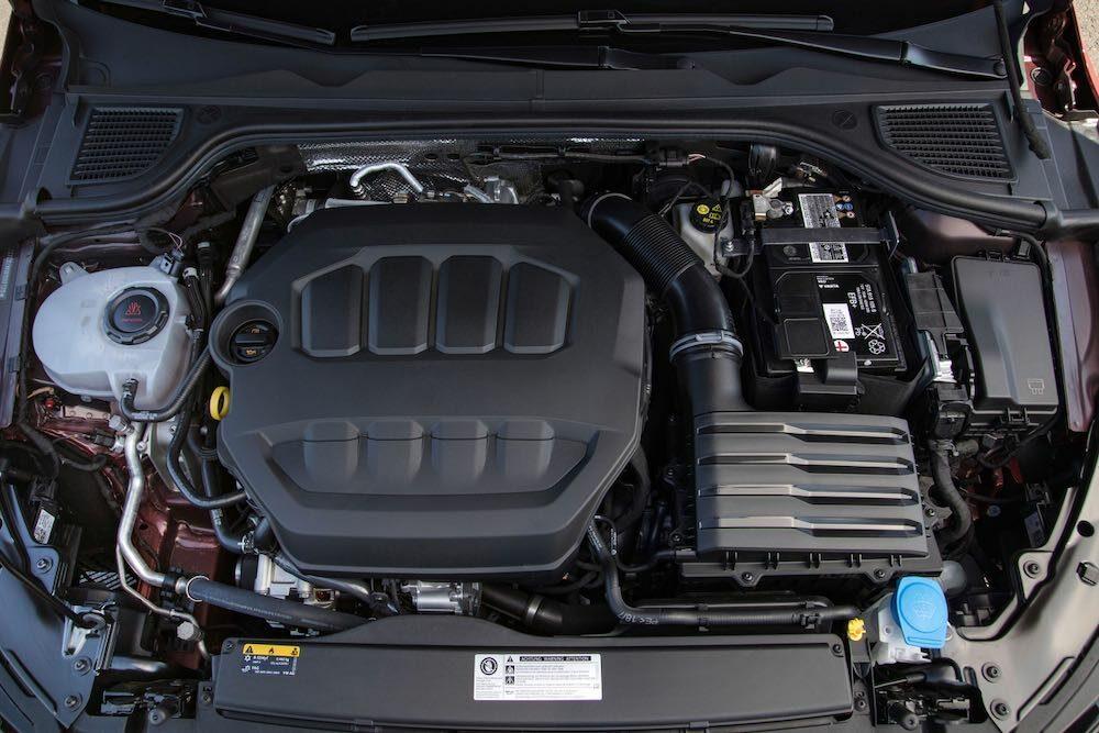 新型ゴルフ GTI エンジン