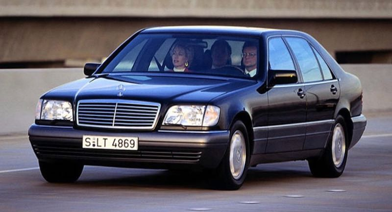 「W124」型メルセデス・ベンツ Sクラス