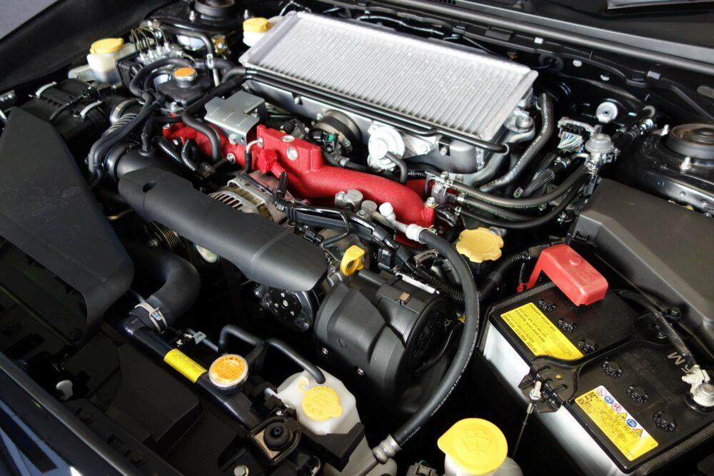 インタークーラーターボボクサーエンジン