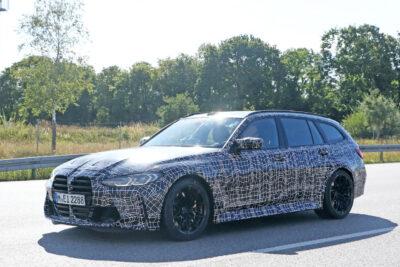 「M3 ツーリング」公道テストをスクープ!BMW初「M」のステーションワゴン誕生へ