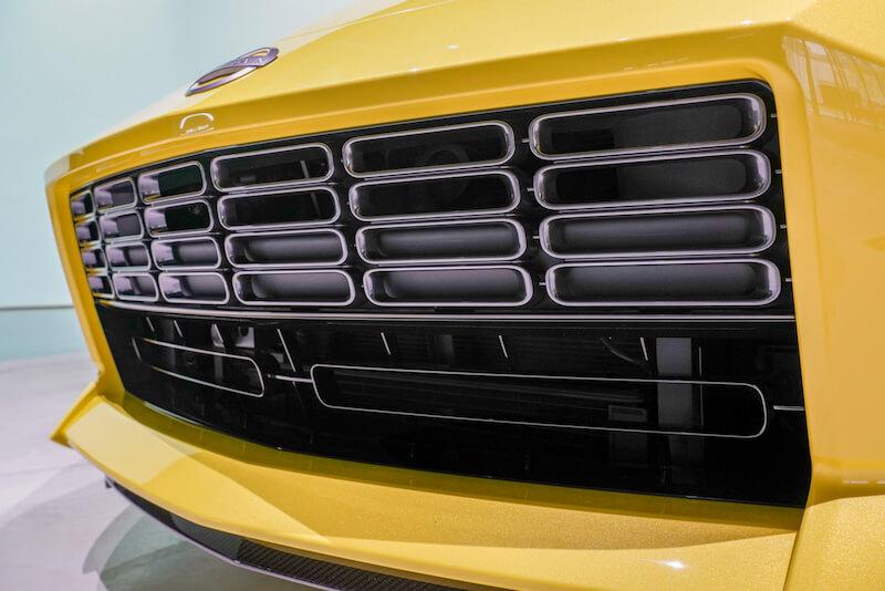 次期新型 日産フェアレディZ プロトタイプ フロントグリル