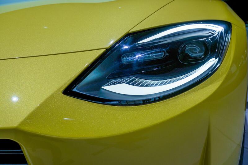 次期新型 日産フェアレディZ プロトタイプ ヘッドライト