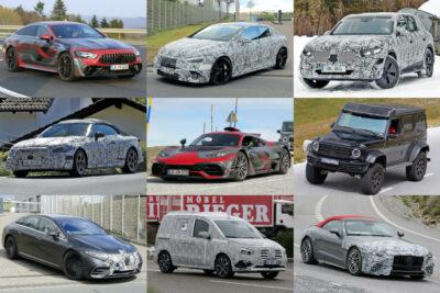 【メルセデス・ベンツ】新型車スクープ・モデルチェンジ予想|2021年7月最新情報