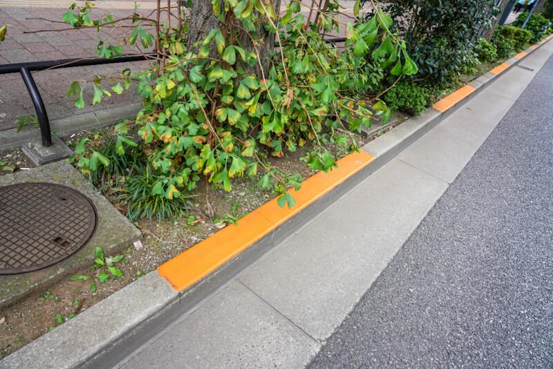 駐車禁止の道路標示