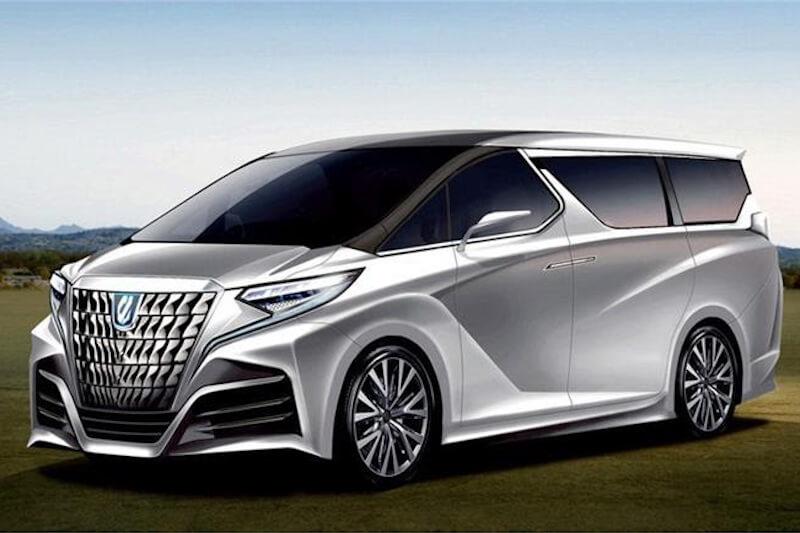 次期新型トヨタ・アルファード デザイン予想CG