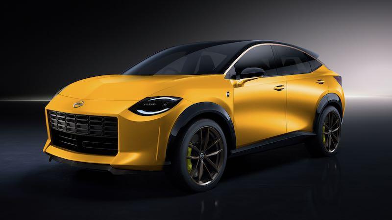 フェアレディZ次期新型SUV版のデザイン予想CG