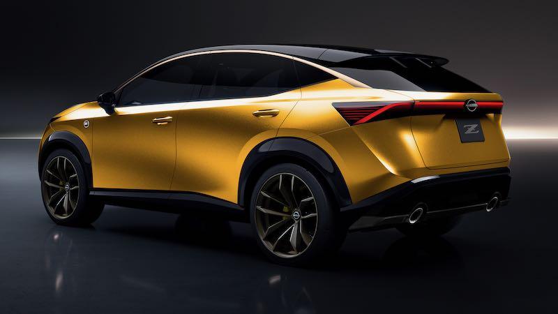 新型 日産 フェアレディZ SUV 予想CG リアサイド