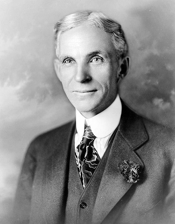 フォードの創立者「ヘンリー・フォード」