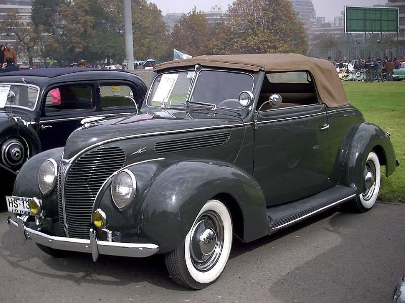 1939年型フォード・コンバーチブル