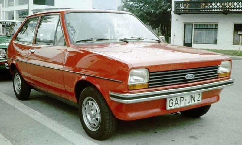 初代フォード・フィエスタ