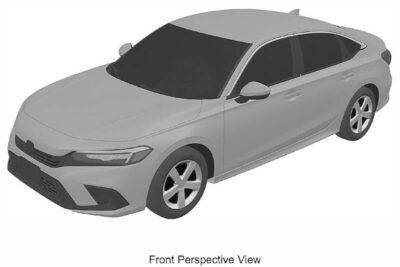 次期新型ホンダ シビック セダンの流出したデザイン特許画像を入手!