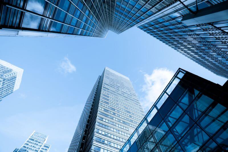 超高層ビルビジネスオフィスビル