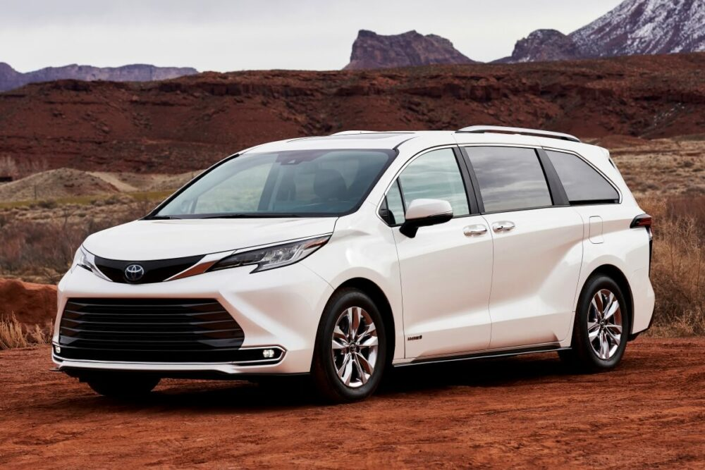 トヨタが海外で販売しているミニバン「シエナ」(2020年式)