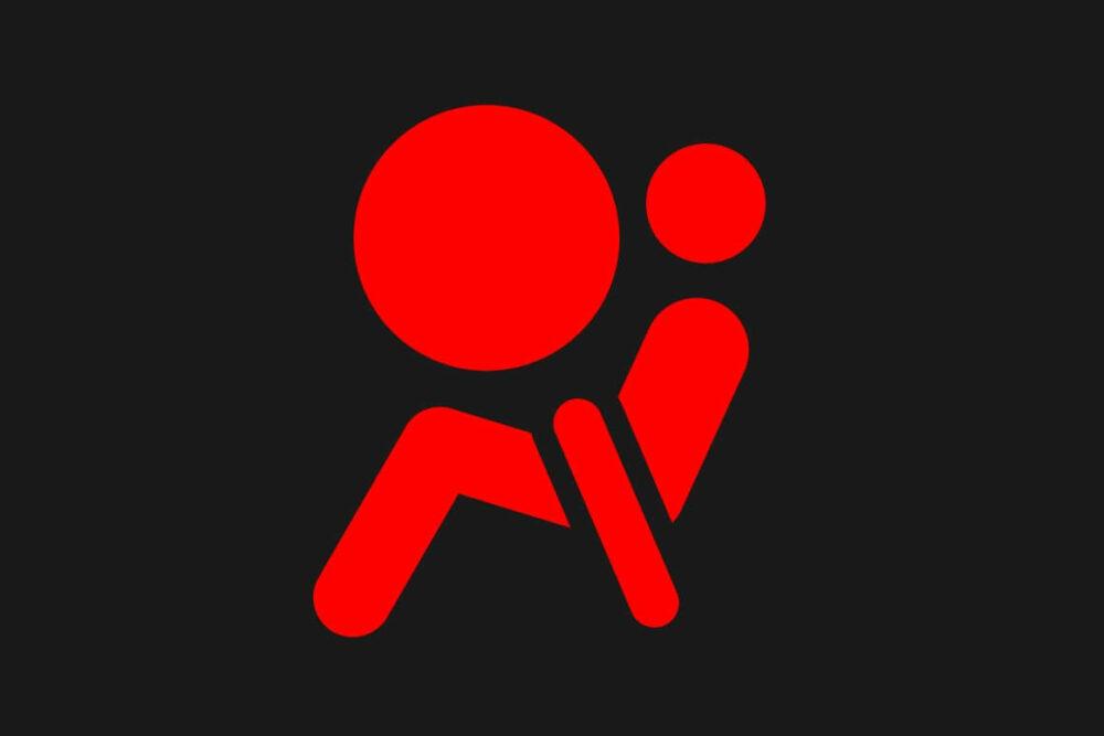 エアバッグ警告灯のマーク