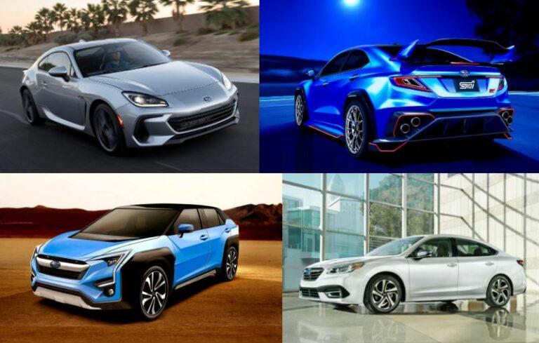 【スバル】新型車デビュー・モデルチェンジ予想&スクープ 2021年5月12日最新情報