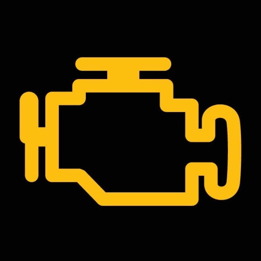 エンジン警告灯のマーク