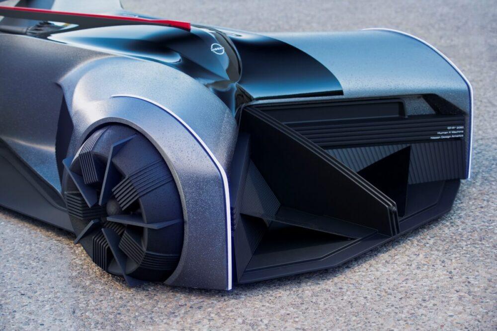 日産GT-R(X)2050 グリル